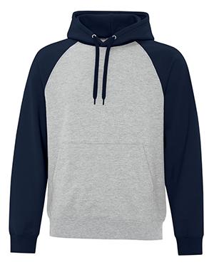 Everyday Fleece Two Tone Hooded Sweatshirt