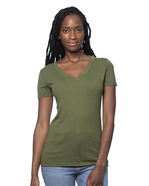 Women's Viscose Hemp Organic Cotton V-Neck