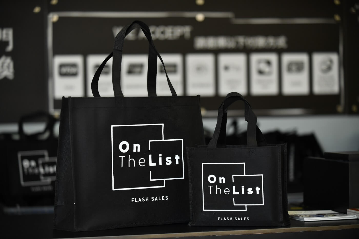 OnTheList has taken an innovative approach to fashion working directly with over 300 brands or their official distributors such as Kenzo, Jimmy Choo, Shiseido, Armani and Moleskin to name a few.
