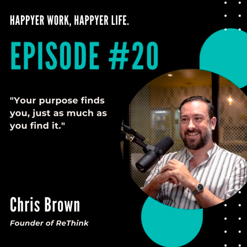In this episode, we speak to Chris Brown, Founder of ReThink, talks about the trend of sustainability.