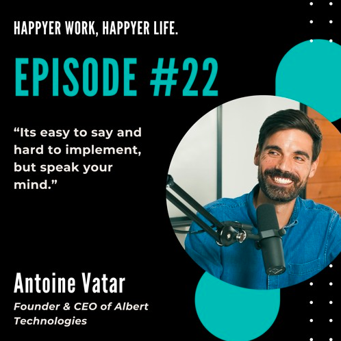 In this episode, we speak to Antoine Vatar.
