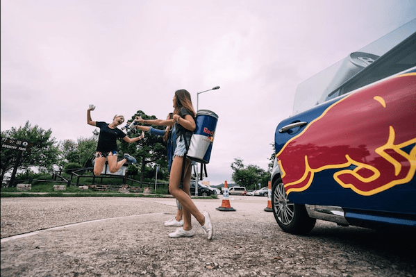 Red Bull - Student Marketeer