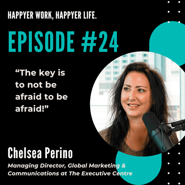 In this episode, we speak to Chelsea Perino from The Executive Centre.