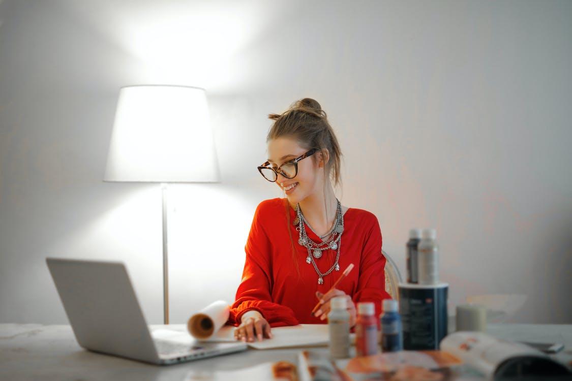 body language online interview