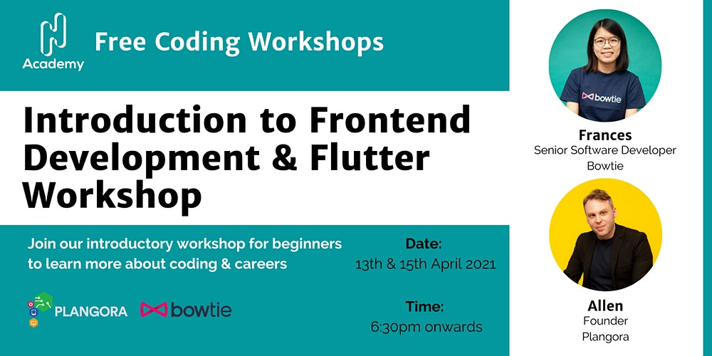 Introduction to Frontend Development & Flutter Workshop