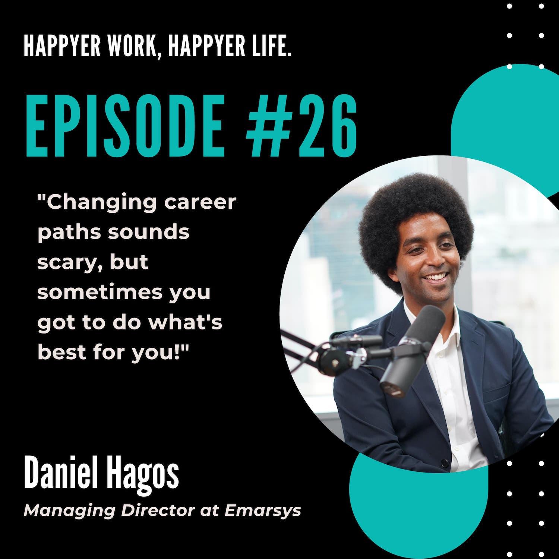 In this episode, we speak to Daniel Hagos, Managing Director at Emarsys.