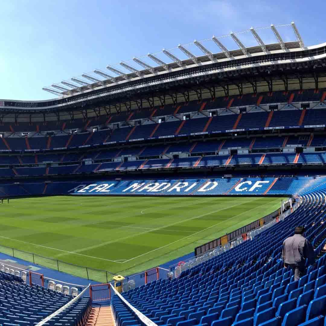 Bernabeu Tour - Real Madrid Football Stadium