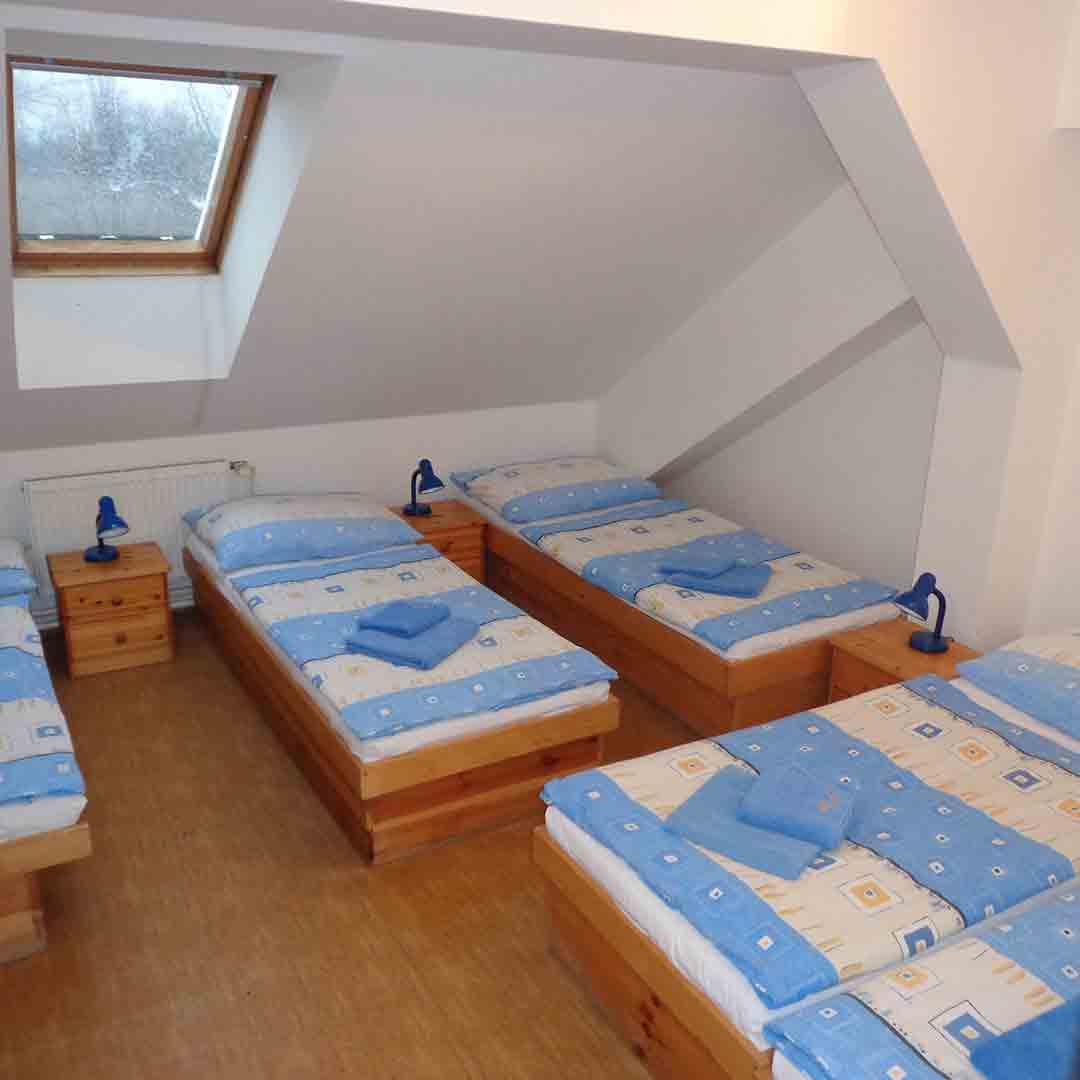 Hotel Pivovar Dorm Room