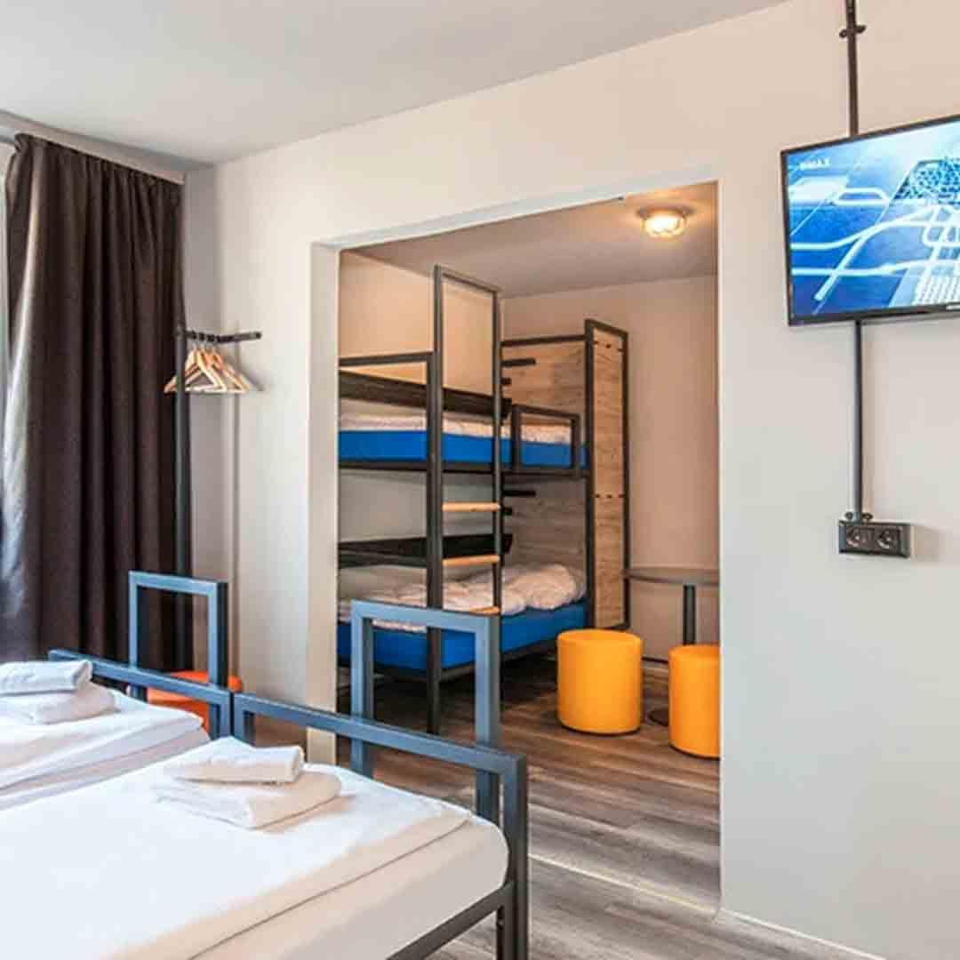 A&O Hauptbahnhopf Dorm Room