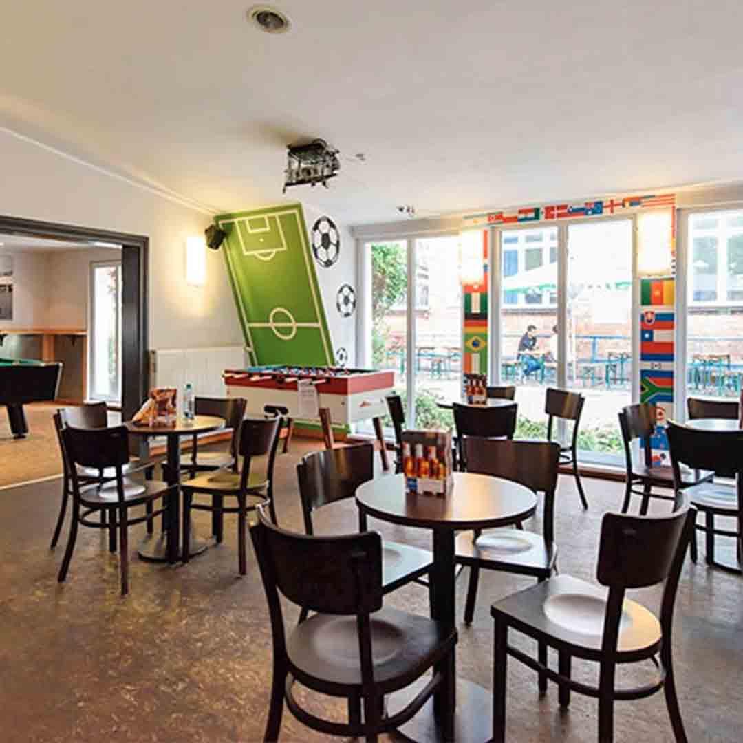 A&O Friedrichshain Berlin Dining Area
