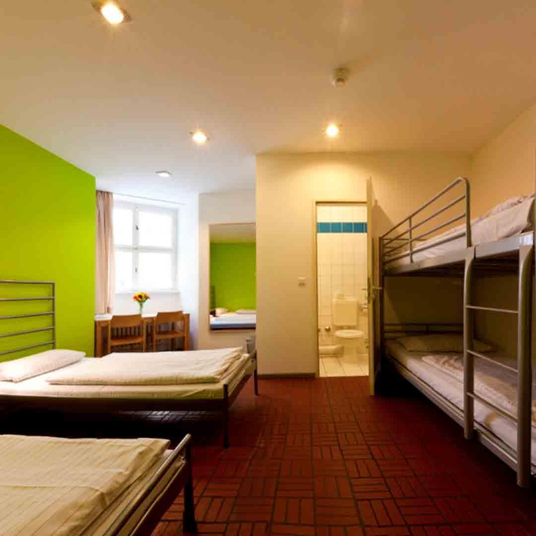 Amstel House Berlin Dorm Room