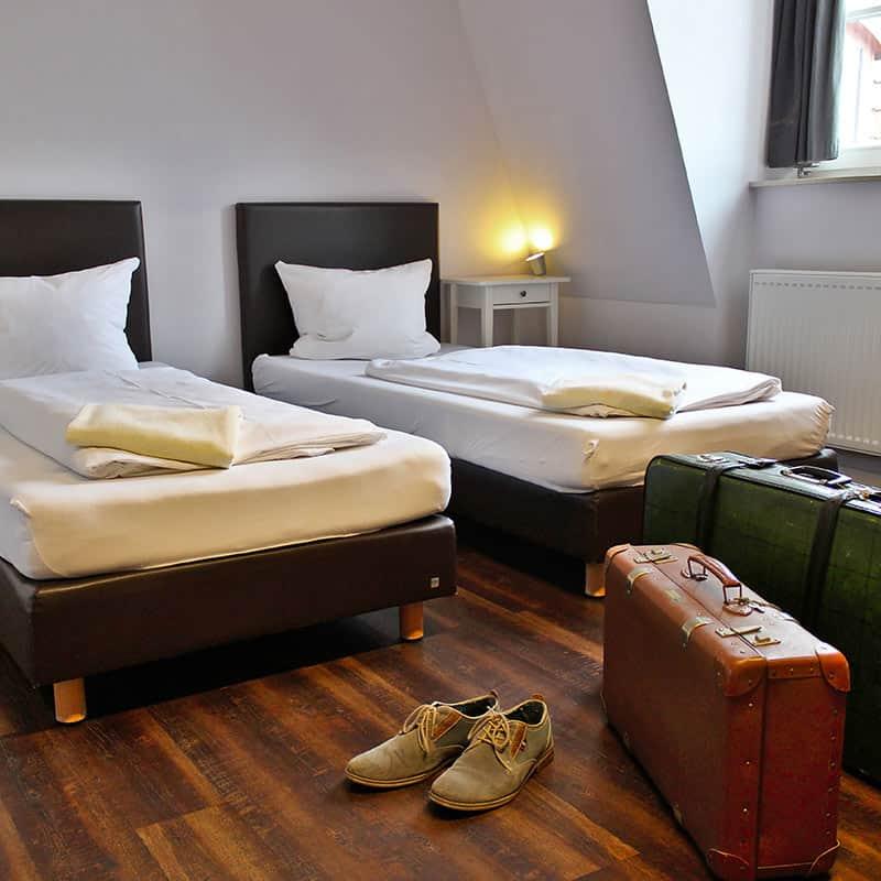 Industriepalast Hostel Twin Room