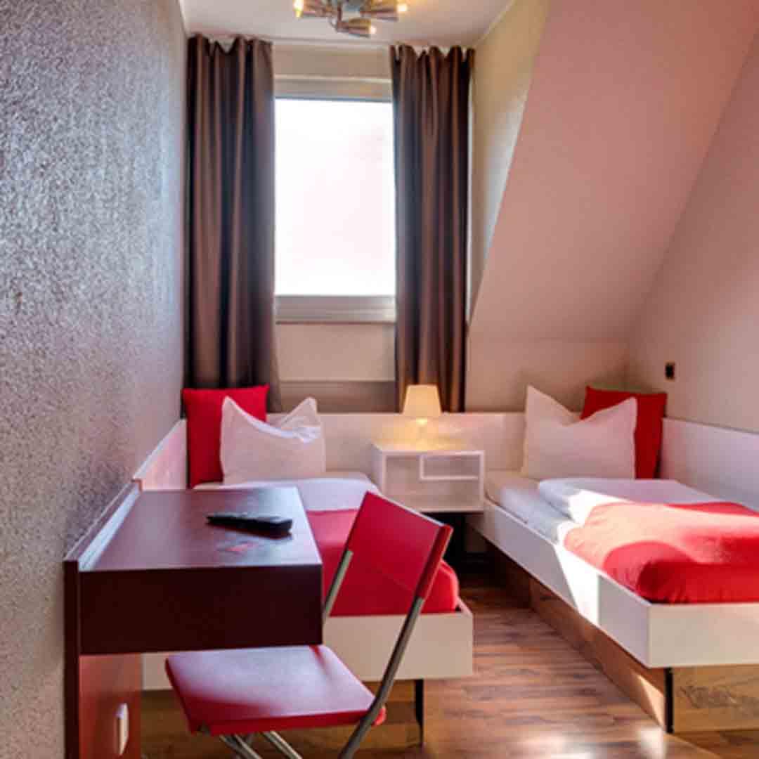 Meininger Cologne Dorm Room 3