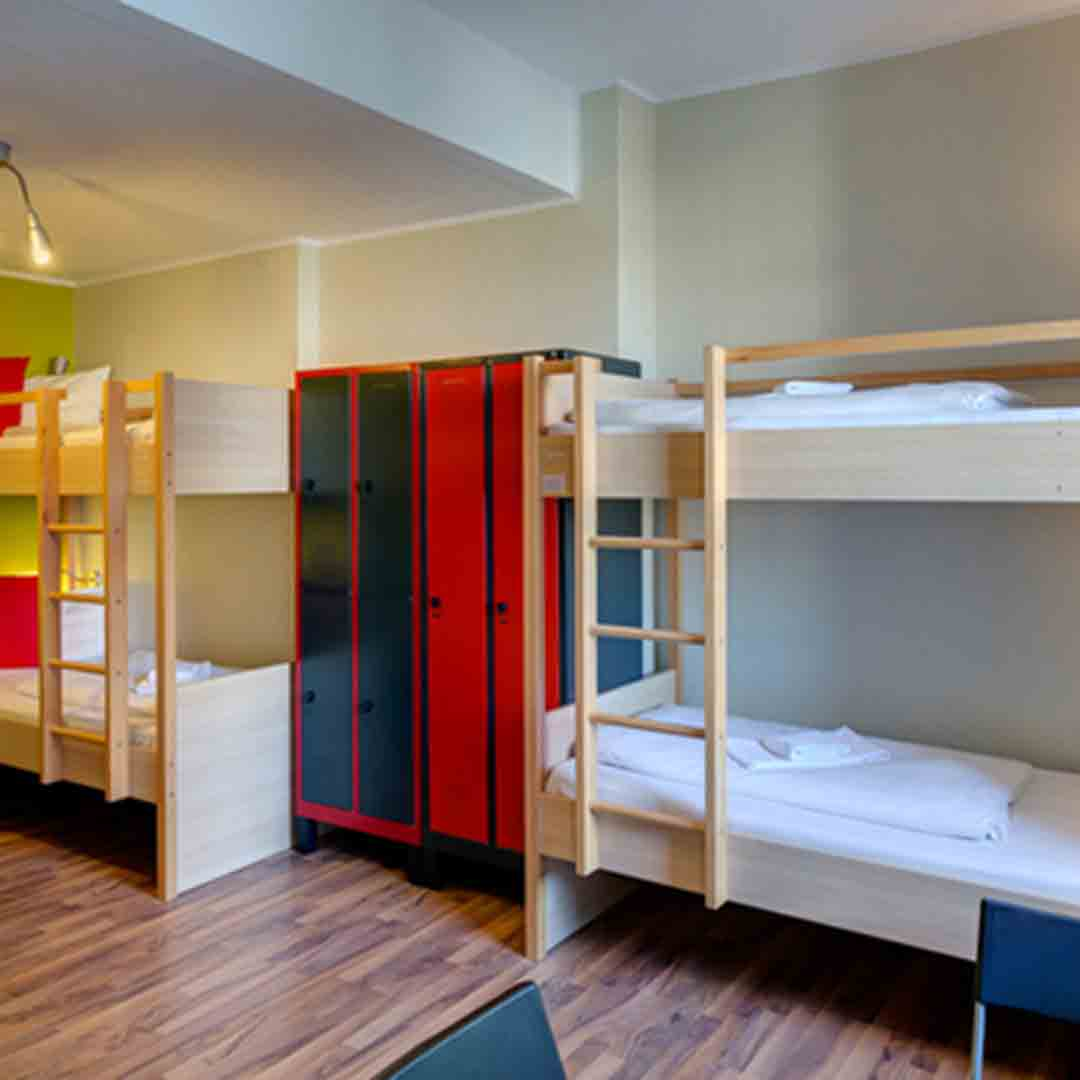Meininger Cologne Dorm Room 2