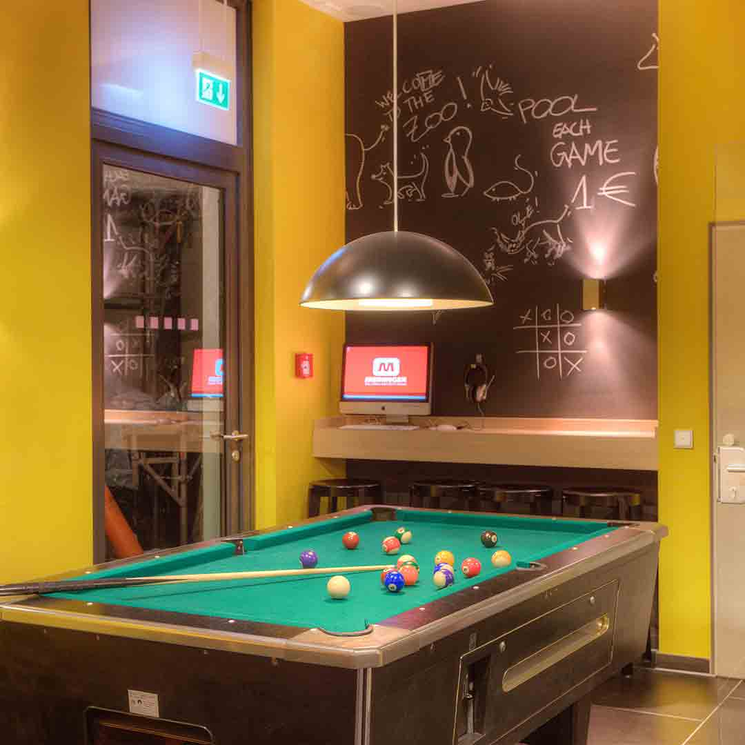 Meininger Convention Centre Games Room