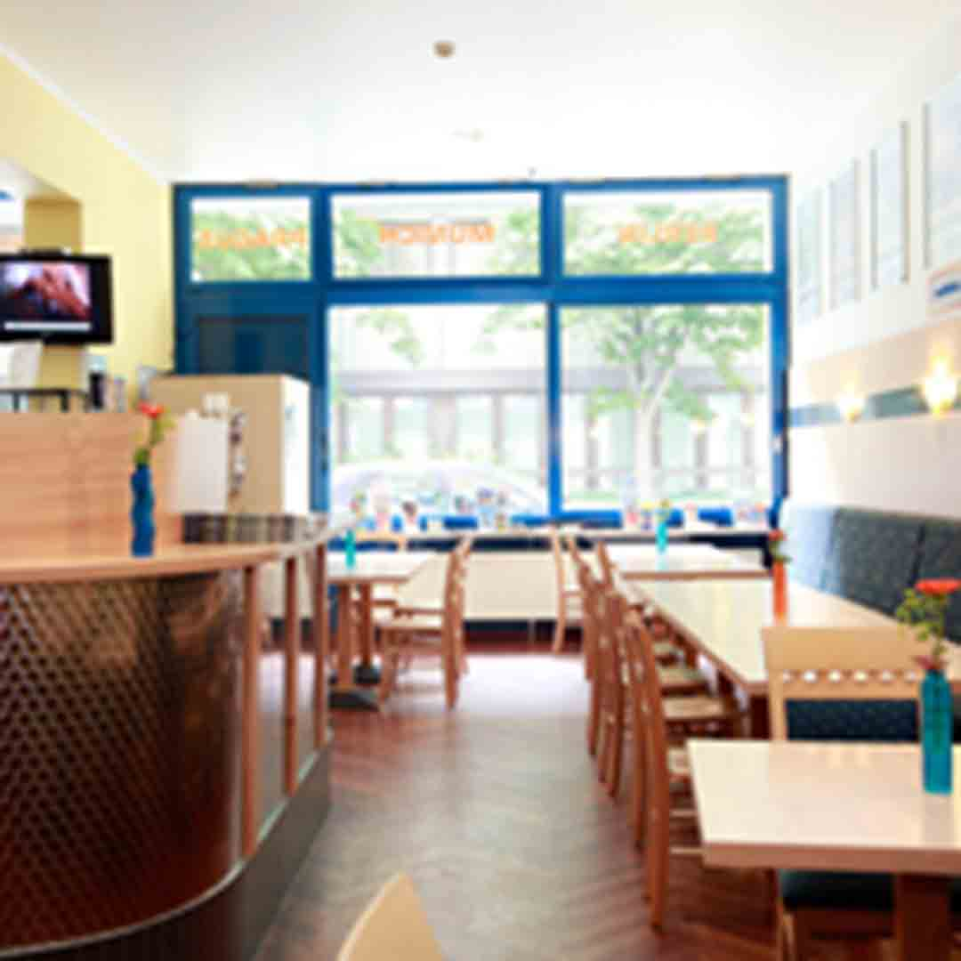 A&O Munich Dining Room