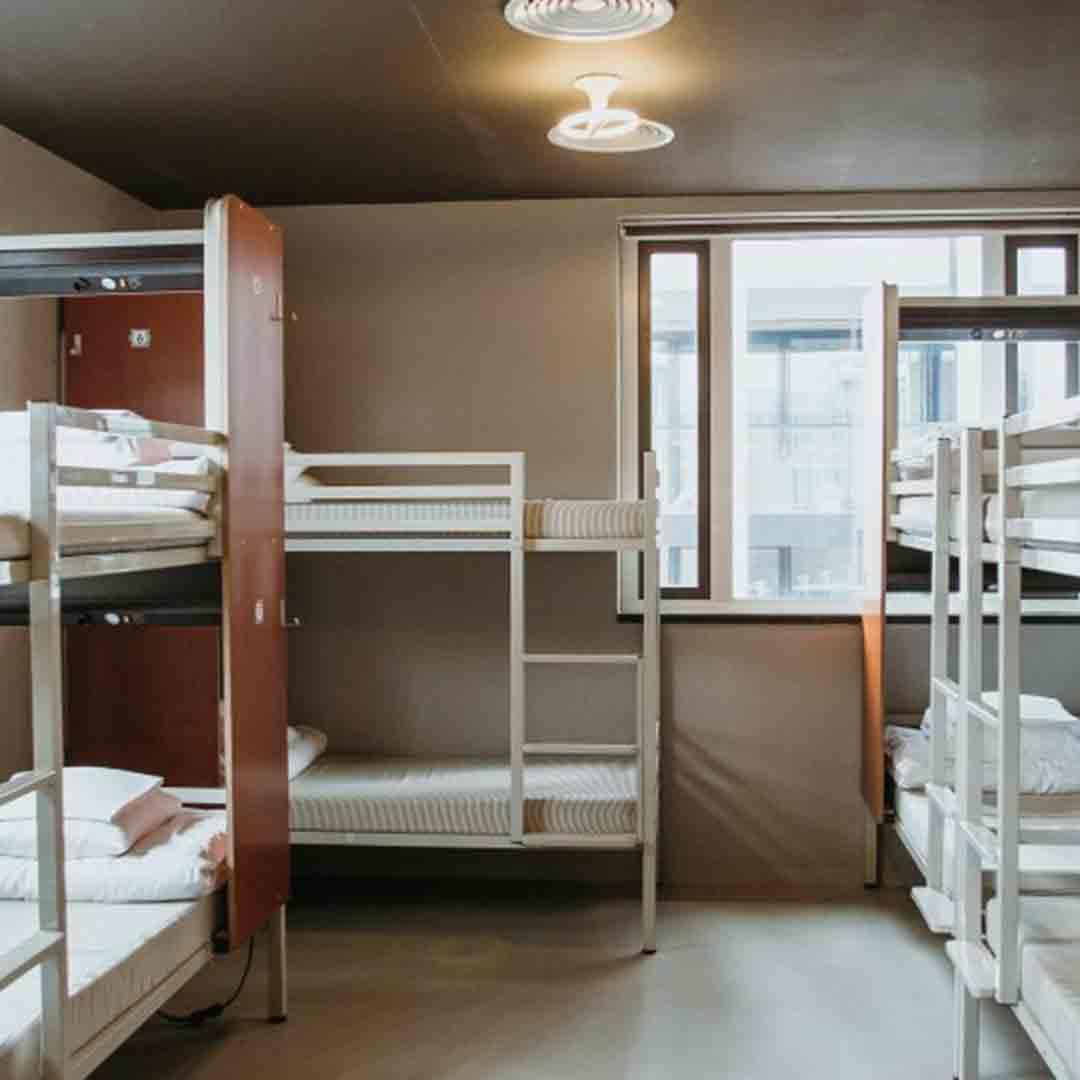 ClinkNoord Hostel Dorm 2