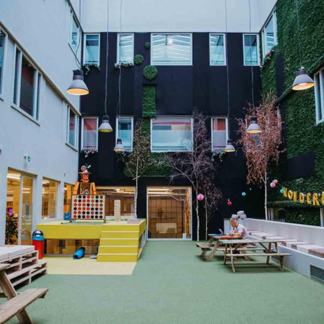 ClinkNoord Hostel Garden