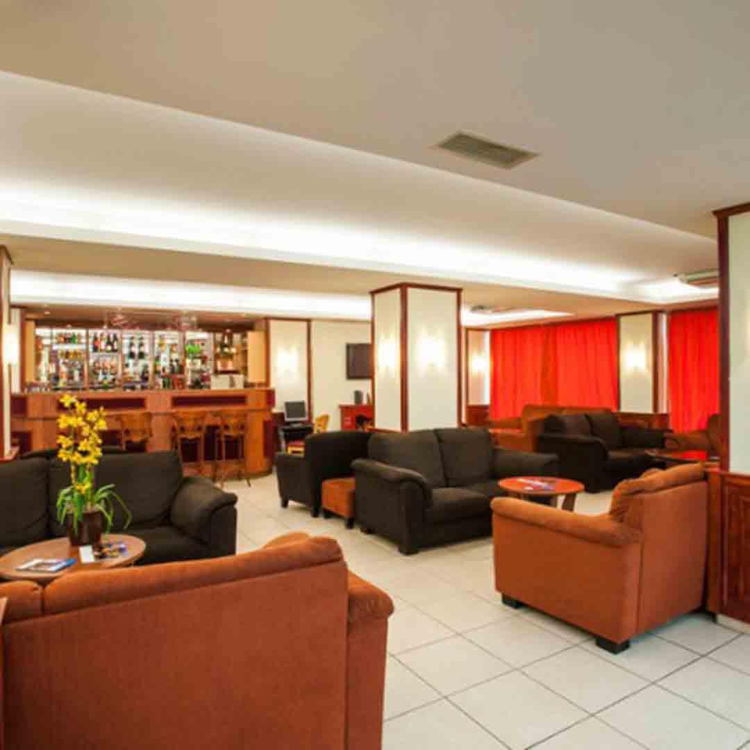 Atlas City Hotel Lobby