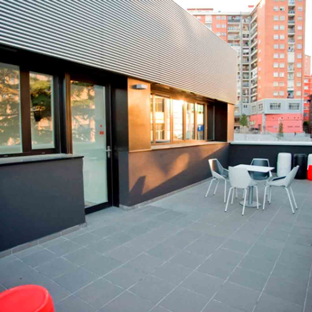BKK Bilbao Good Hostel Terrace