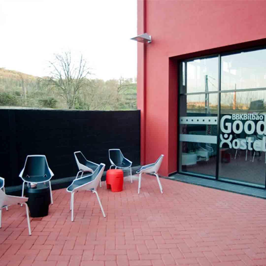BKK Bilbao Good Hostel Terrace 2