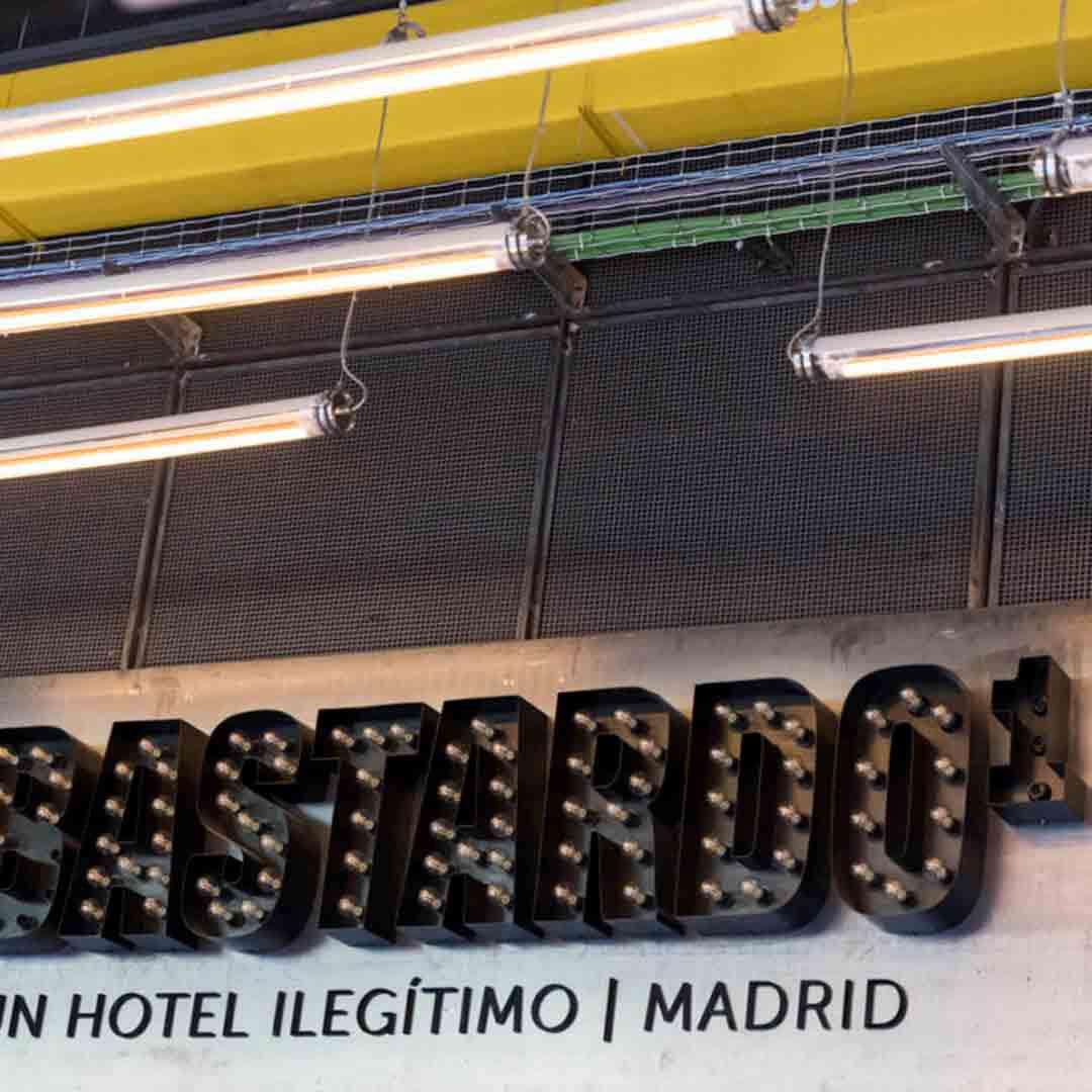 Bastardo Hotel Sign