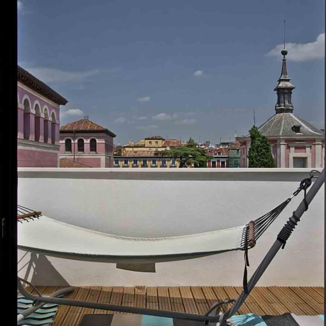 Bastardo Hotel Balcony