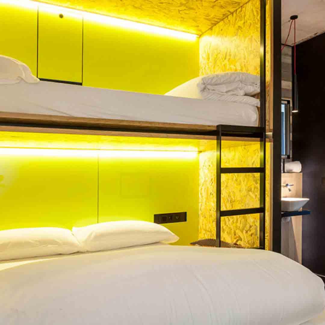 Bastardo Hotel Room