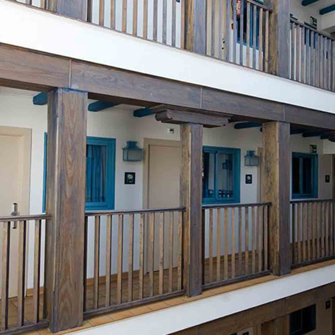 Mad Hostel Corridor