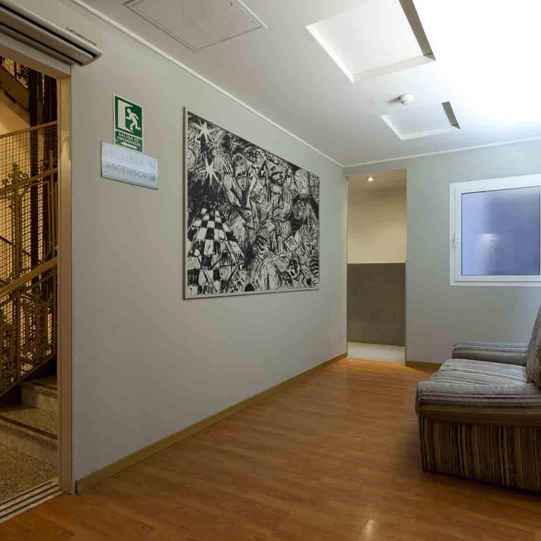 Hostel Venecia Valencia Seating Area