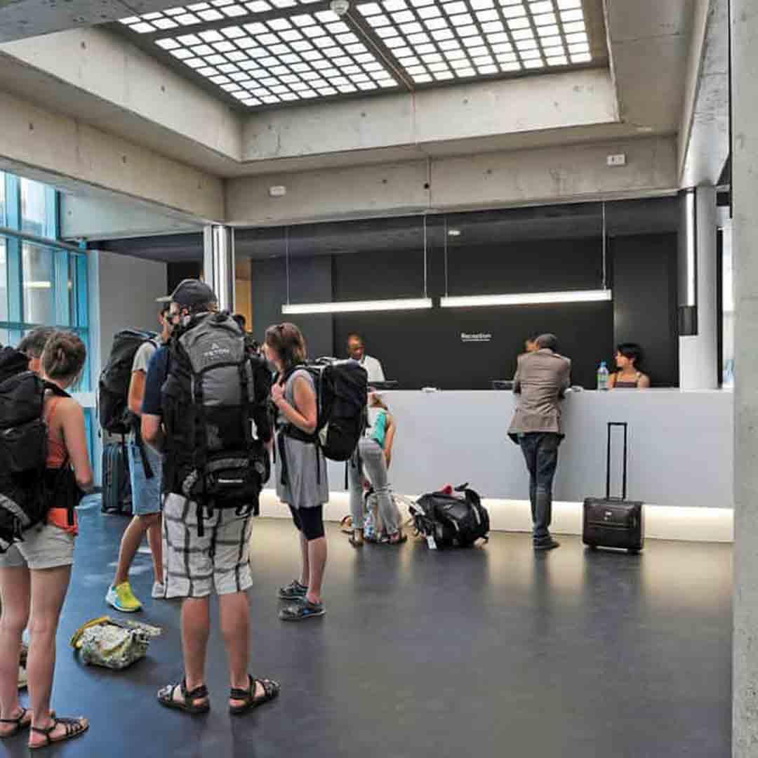 Geneva Youth Hostel Lobby