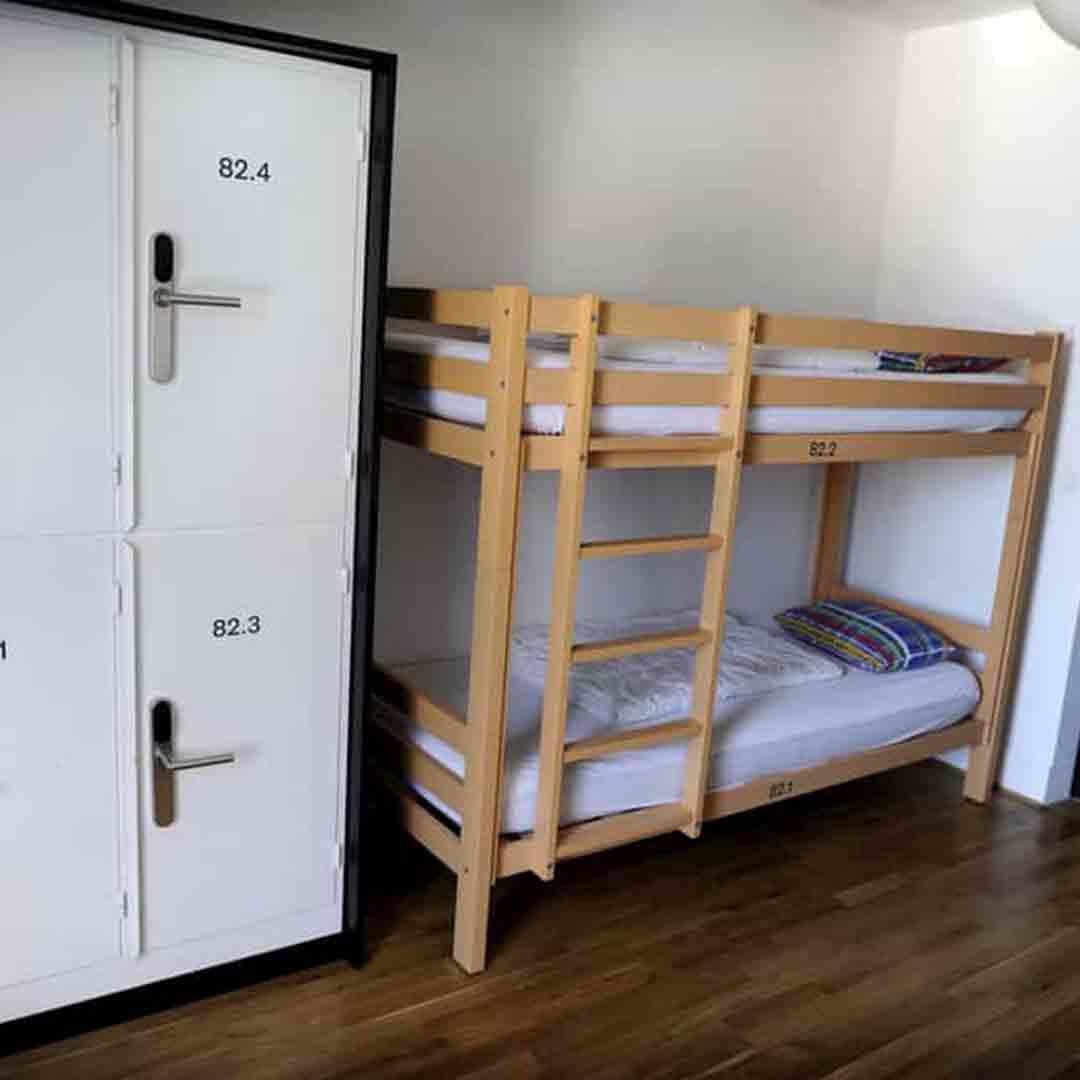 Geneva Youth Hostel Dorm