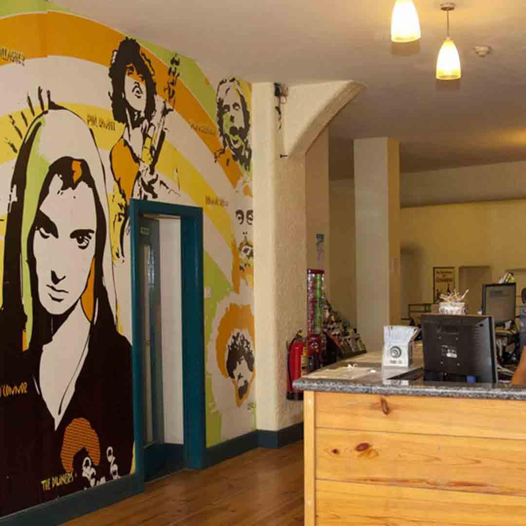 Ashfield House Hostel Reception