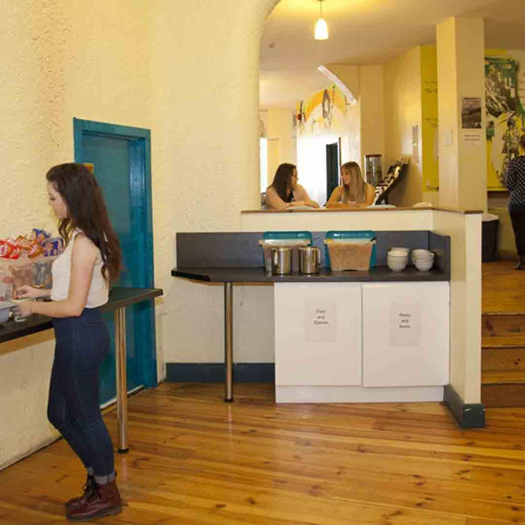 Ashfield House Hostel Kitchen