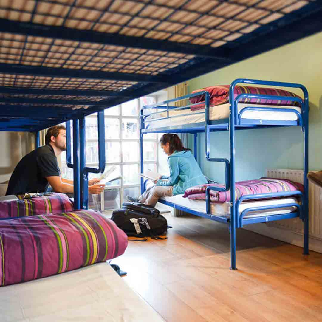 Isaacs Hostel Dublin Dorm