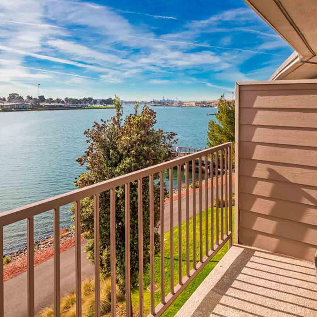 Best Western Plus Bayside Hotel balcony