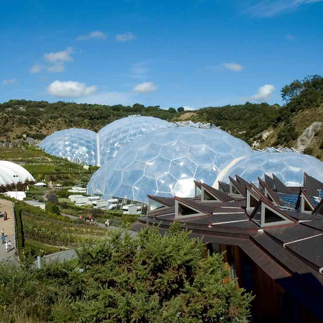 FREE Eden Project Visit on Cornwall trip