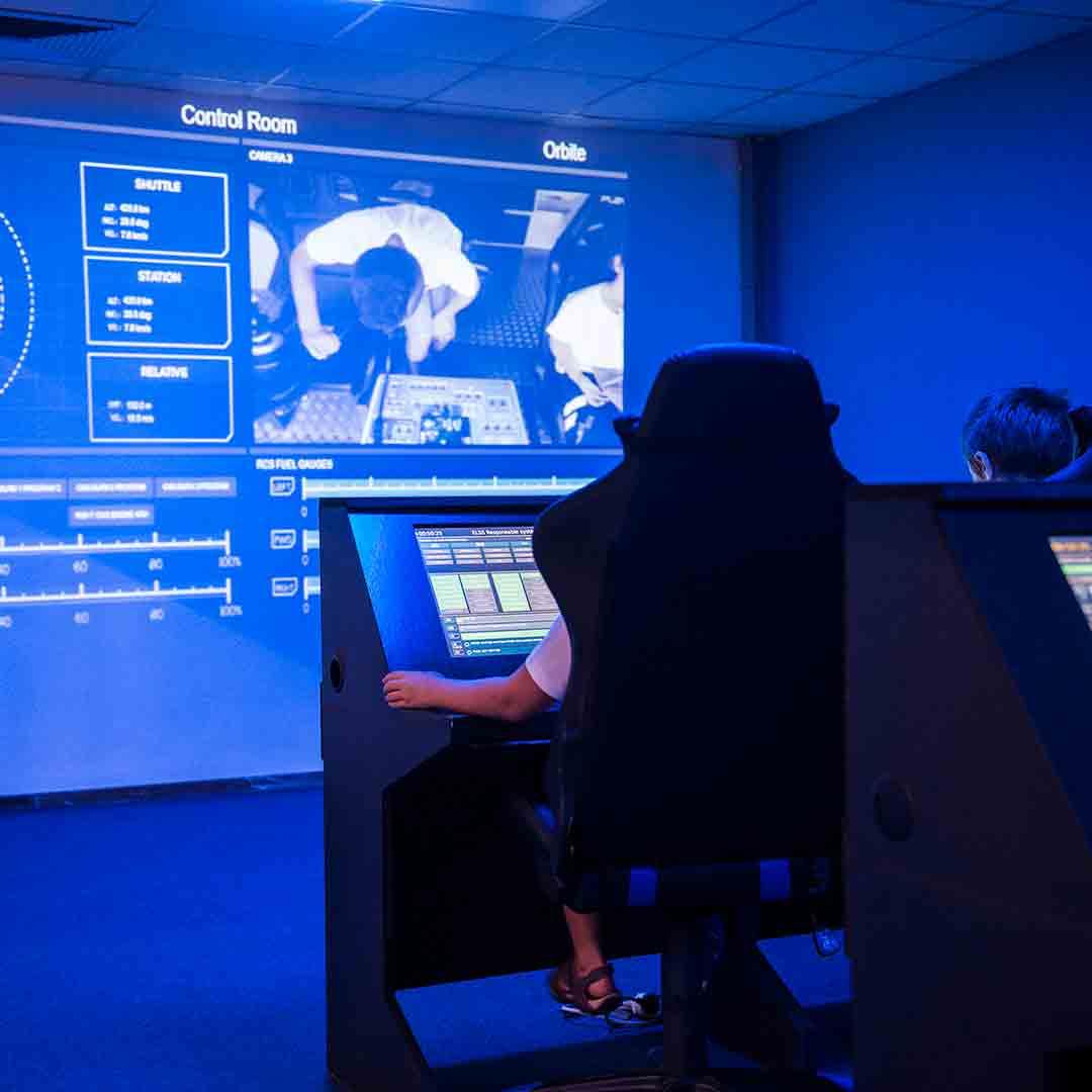 Euro Space Center - Multimedia Exhibition