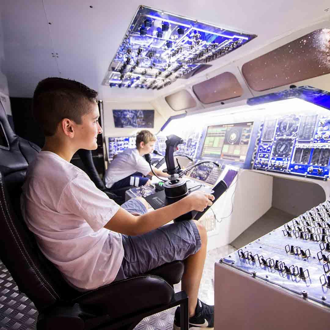 Euro Space Center - Astronaut class (2-5 days)