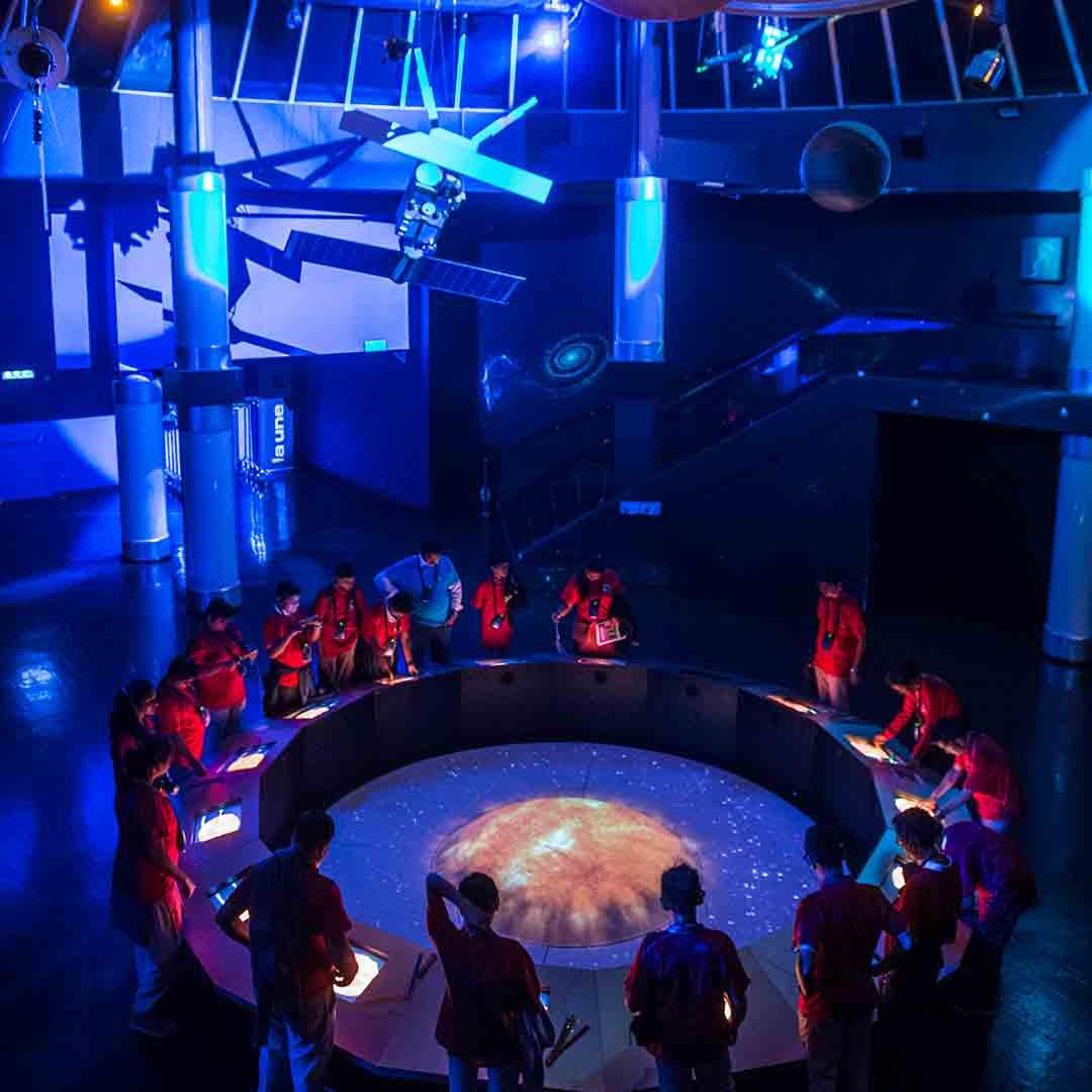 Euro Space Center - Planetarium