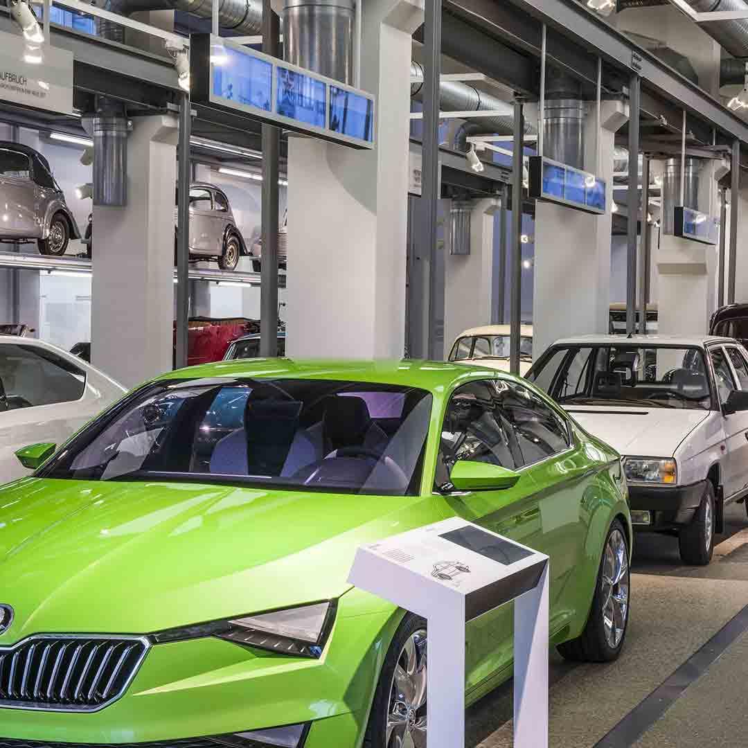 Skoda Car Plant