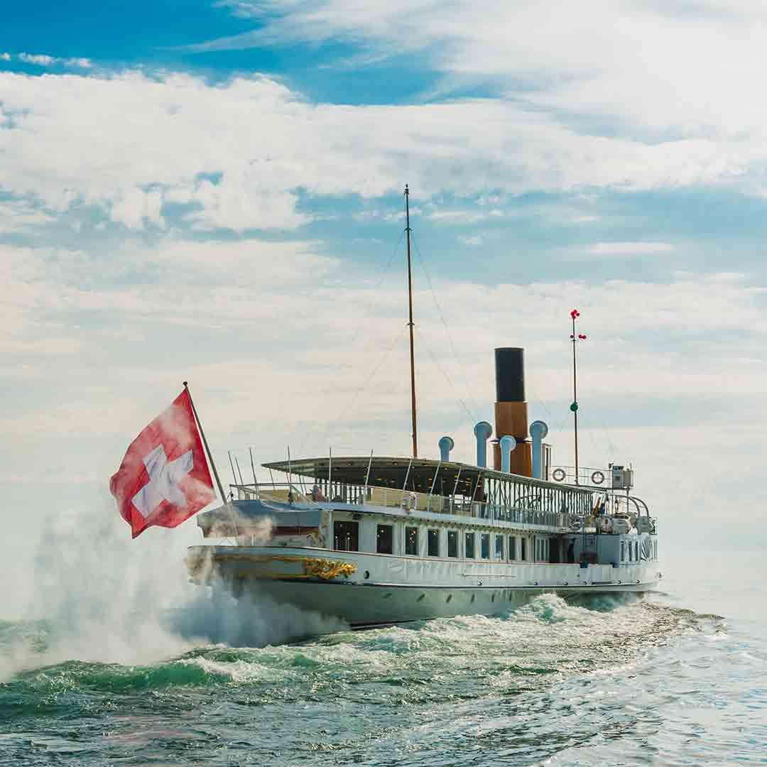 Lake Geneva Boat Trip