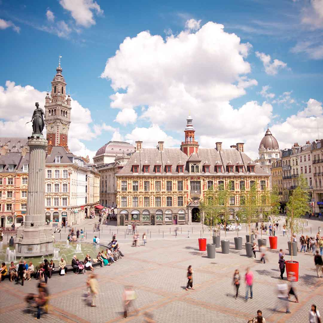 Lille French Languages School Trips
