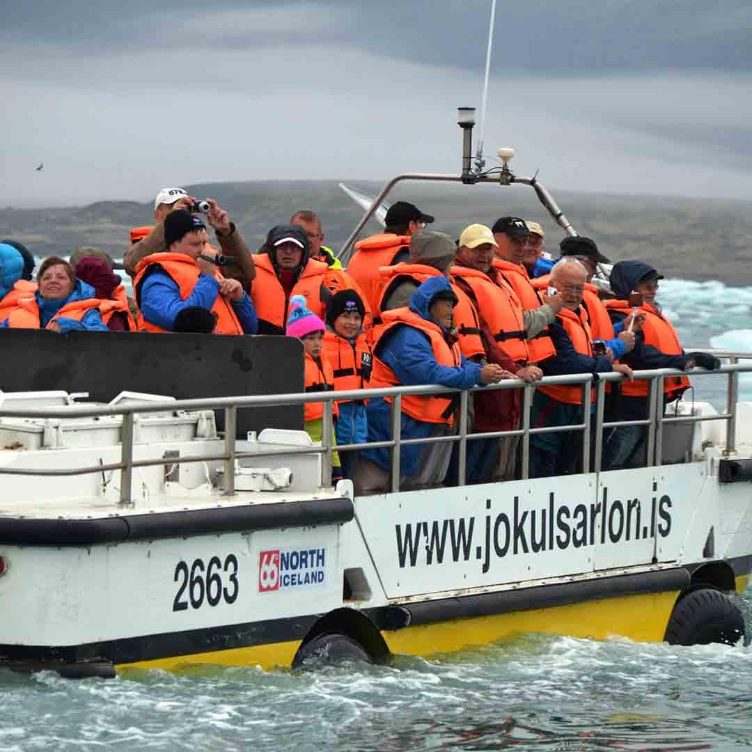 Jökulsárlón Glacier Lagoon Amphibian Boat Tour