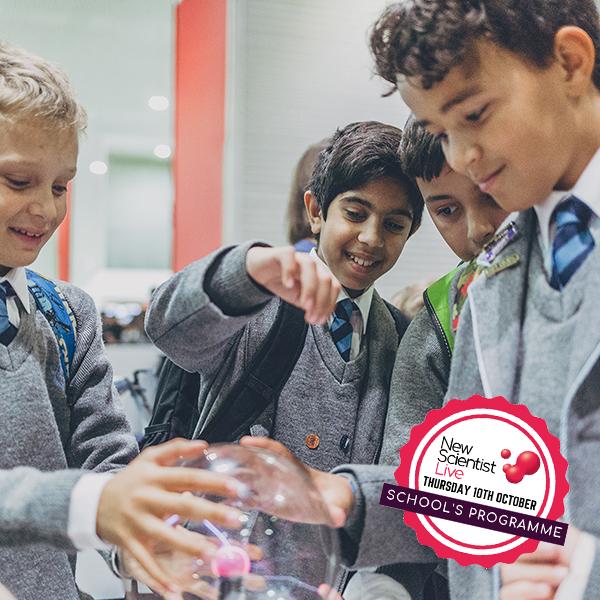 New Scientist Live School Trip