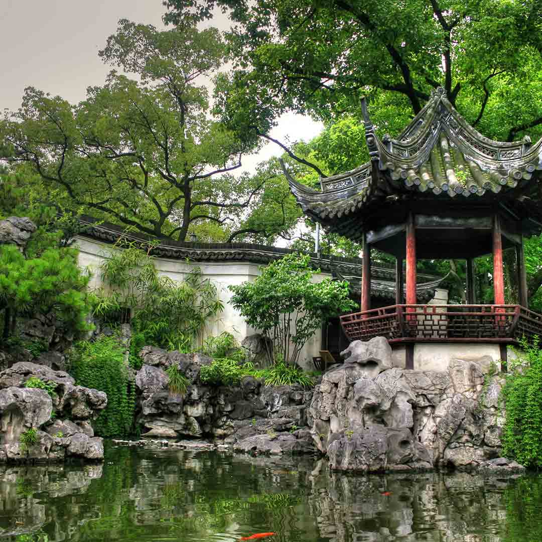 SHANGHAI: Yu Yuan Gardens and Bazaar