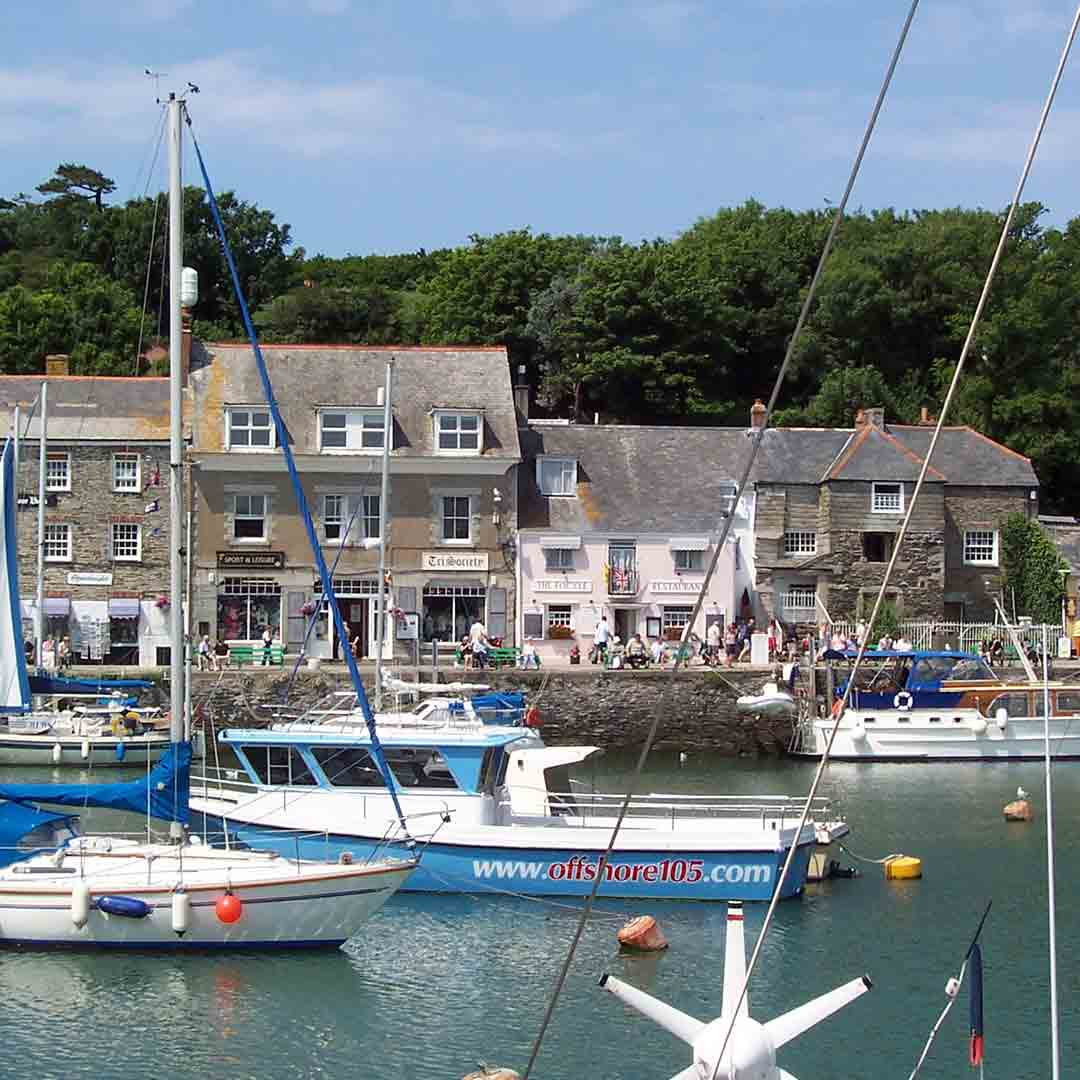 Padstow village & National Lobster Hatchery
