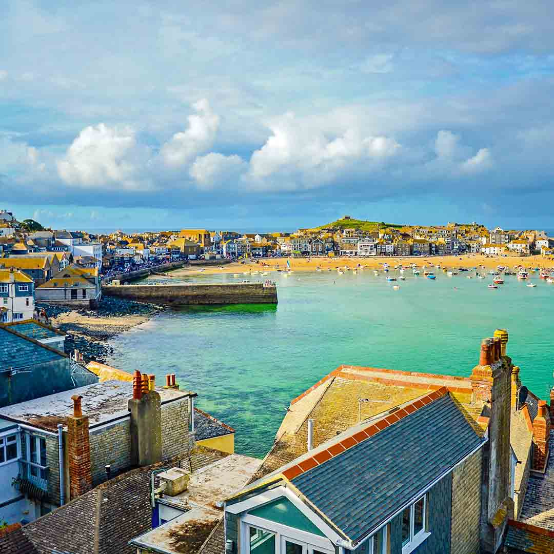 St Ives Village & Tate Gallery