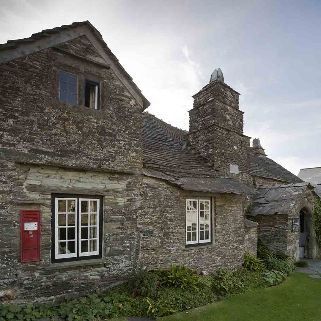Tintagel - Castle and Old Post Office