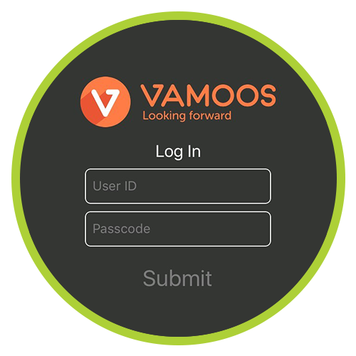 Your Vamoos reference number